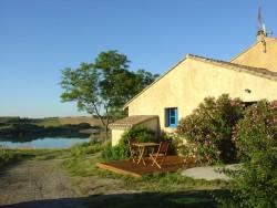Location gîte Castelnaudary -Terrasse du Petit Gîte