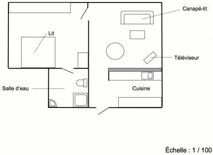 Plan du Petit Gîte