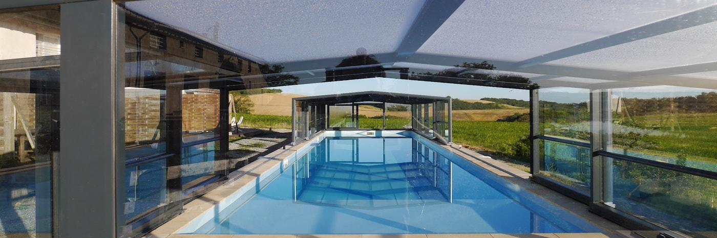 location gites groupes toulouse piscine couverte